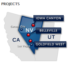 All American Gold Corp. projects