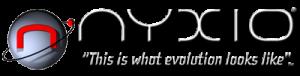 penny stock NYXO logo