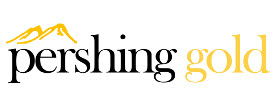 Pershing Gold Corporation logo